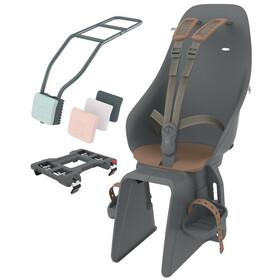 Urban Iki Kindersitz für Sitzrohr bincho black/kurumi brown